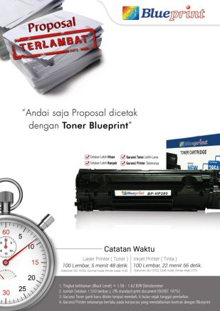 Knowledge Toner Catridge Toner Blueprint