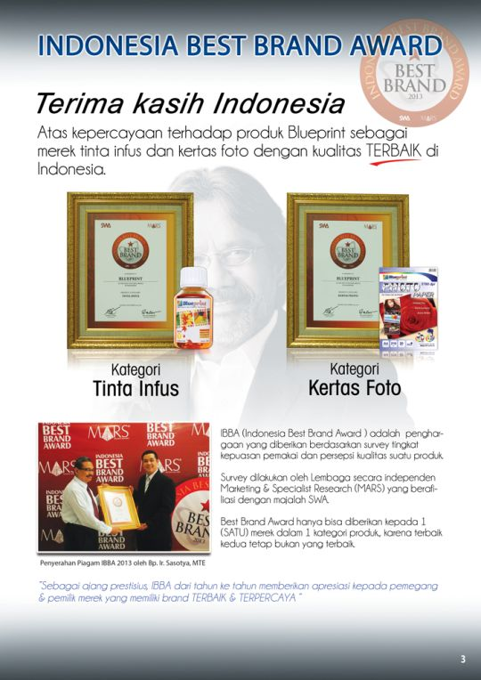 Indonesia Best Brand Award