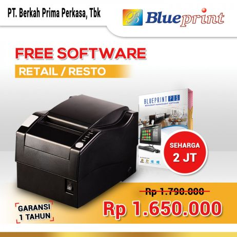 Printer Thermal Printer Thermal  Printer Kasir 3 port BLUEPRINT TMUA300