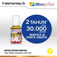 Tinta Epson 003 BLUEPRINT Refill For Printer Epson 100ml  Kuning