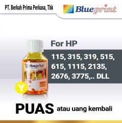 Tinta HP BLUEPRINT Refill For Printer HP 100ml  Kuning
