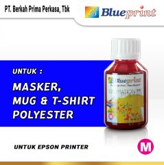 Tinta Sublim Epson BLUEPRINT Refill For Printer Epson 100ml Light Magenta